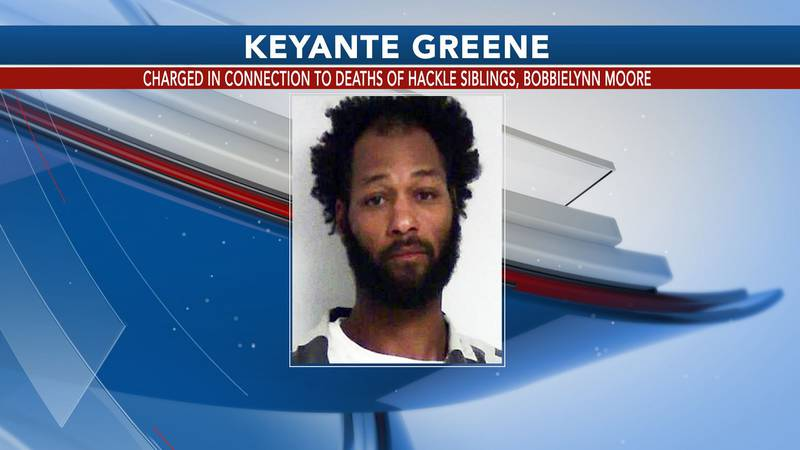 Keyante Greene was charged in connection to the deaths of Wayne and Mercedes Hackle and...