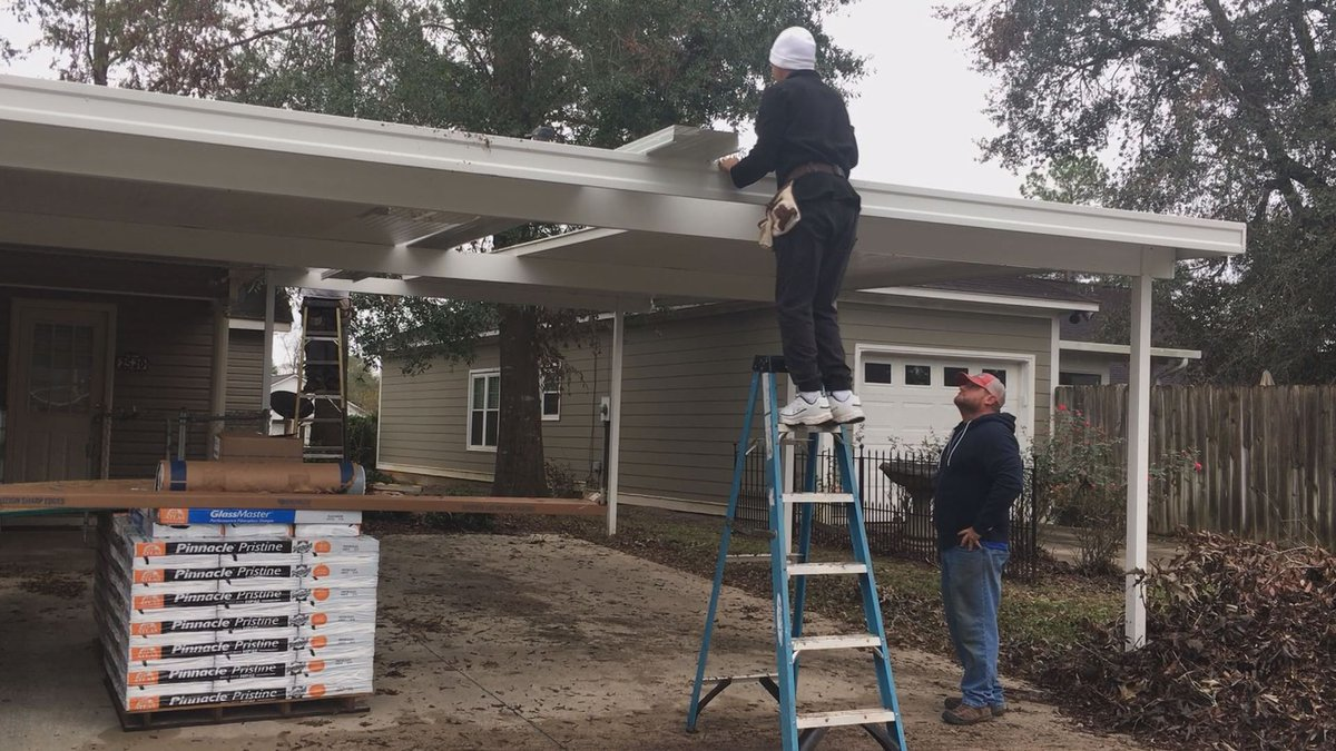 The money comes from the federal government to help homeowners devastated by storms.