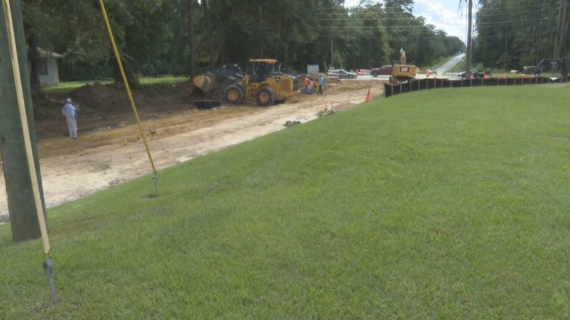 Major construction in South Georgia kicked off Monday on South Pinetree Boulevard and Magnolia...