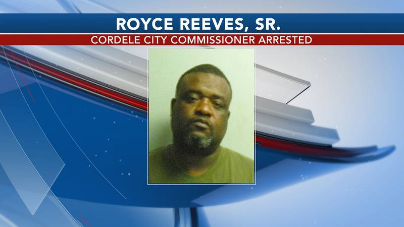 Cordele City Commissioner Royce Reeves was arrested and charged with felony obstruction.