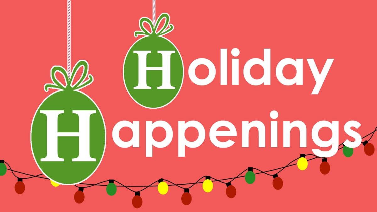 A number of holiday events are happening in the WALB viewing area.