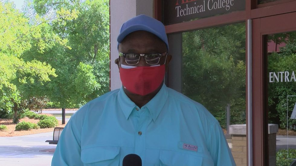 Robert Jackson, student at Albany Technical College