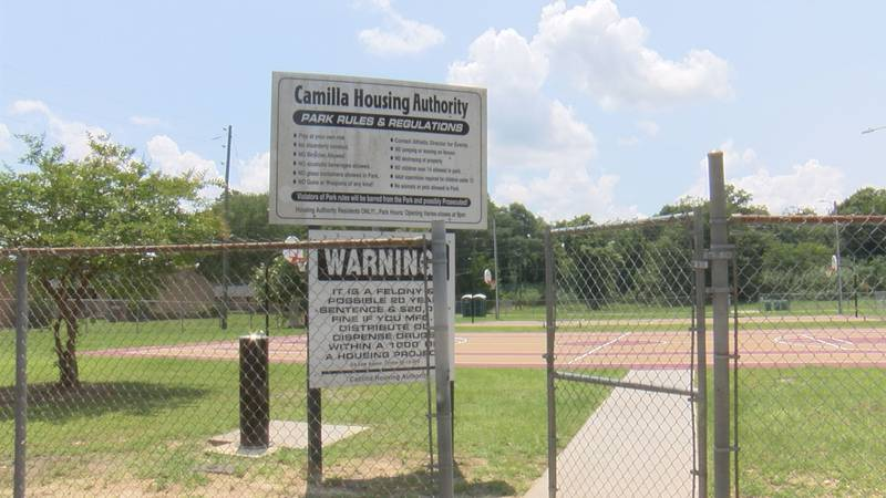 This park is dedicated to the first African-American City of Camilla councilman, J.W. Toombs
