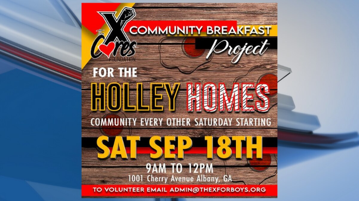 The X for Boys Community Breakfast Project
