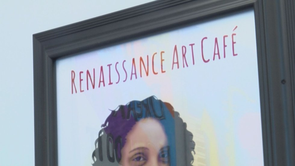 Femi Anderson owner of The Renaissance Art Cafe