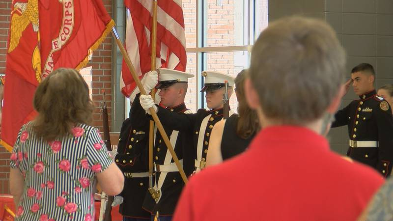 On Wednesday the annual JROTC Banquet and Awards Ceremony was held and this year was also a...