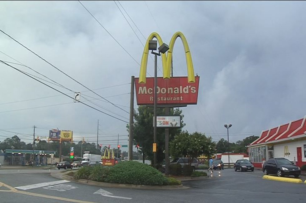 McDonald's on Oglethorpe Blvd.