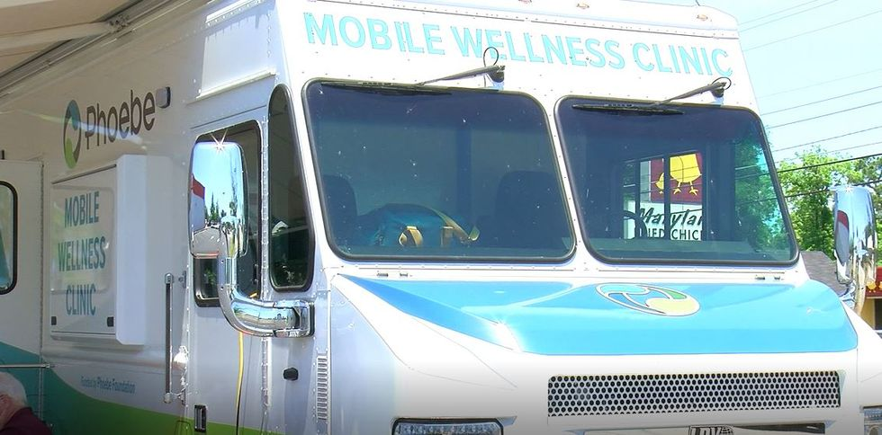 Phoebe pairs with community to host mobile vaccine clinic