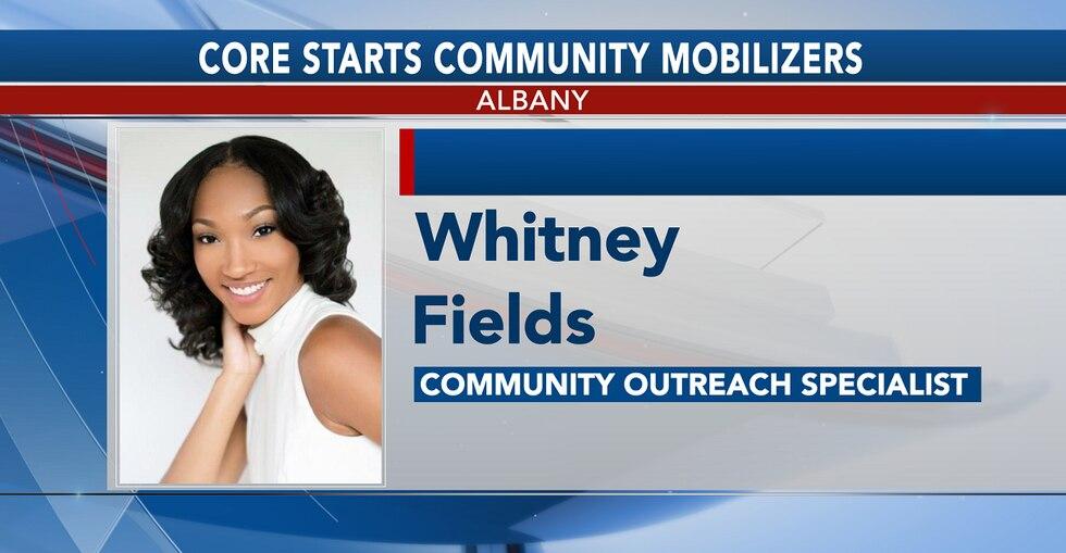 whitney fields community outreach specialist