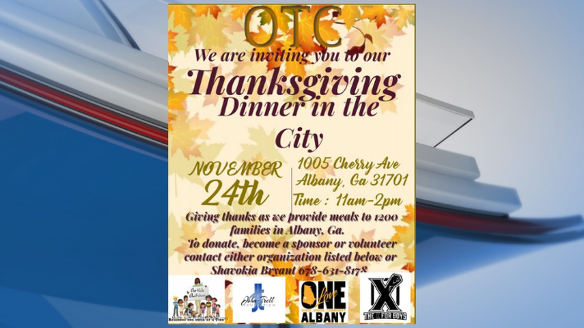 The dinner will be on Nov. 24 at 1005 Cherry Ave.