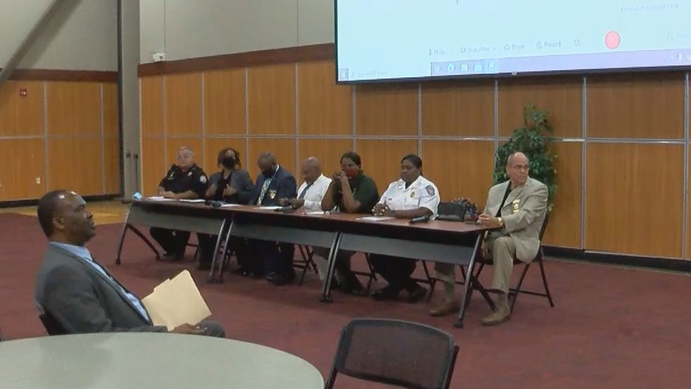 These officials took the hot seat on some hot topics Tuesday night.