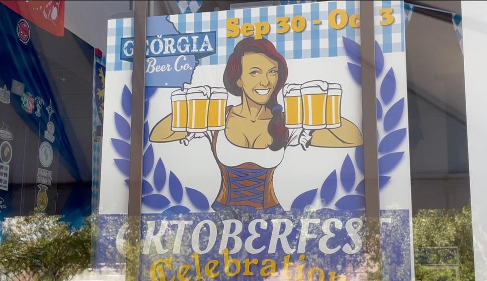 This is Georgia Beer Company's third year hosting Oktoberfest.