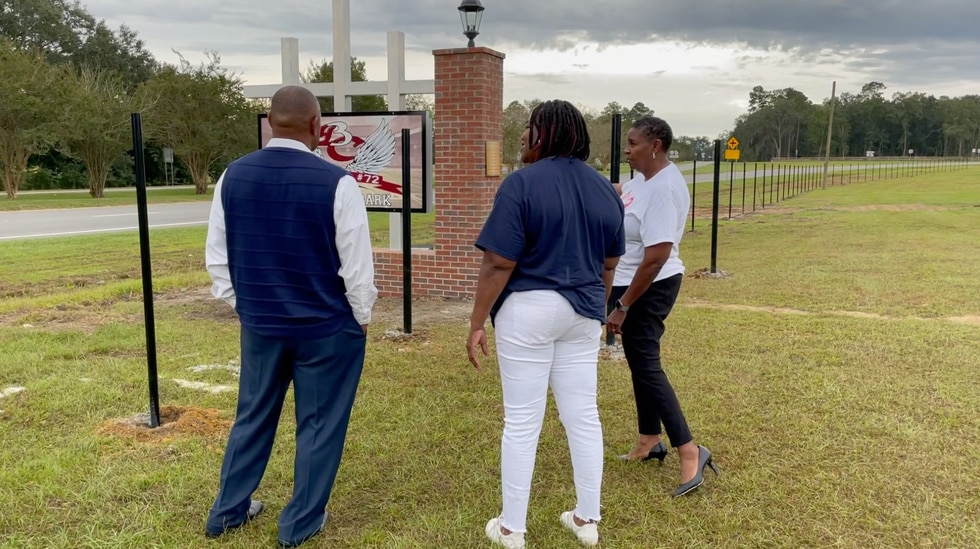 The park honors the lives of three high school football players killed in a tragic car accident...