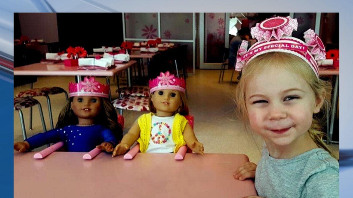 AMA American Girl Tea Party