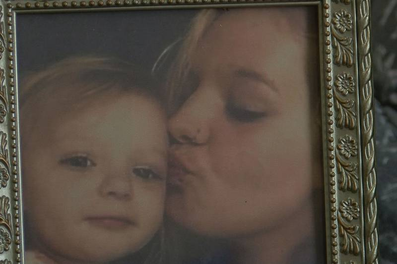 Jessica Dietzel, right, and her daughter. Dietzel has been missing since February 2020.