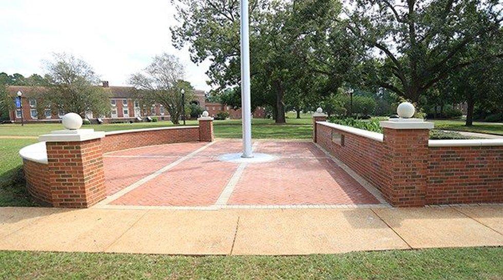 The Presidential Plaza at Georgia Southwestern State University. (Source: Georgia Southwestern...