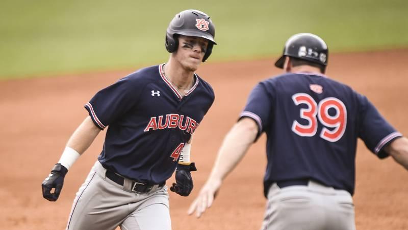 Steven Williams (41)Baseball vs North Carolina on Saturday, June 8, 2019, in Chapel Hill,...