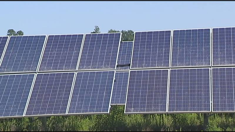You may soon see more solar panels start popping up around Dougherty County.