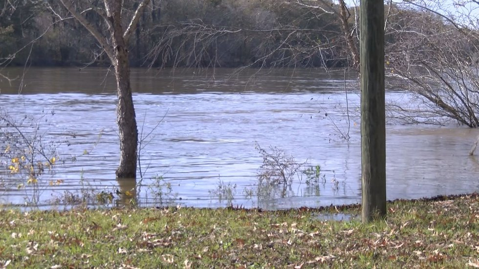 The rain we've gotten has several rivers higher than usual and some neighbors concerned. On the...