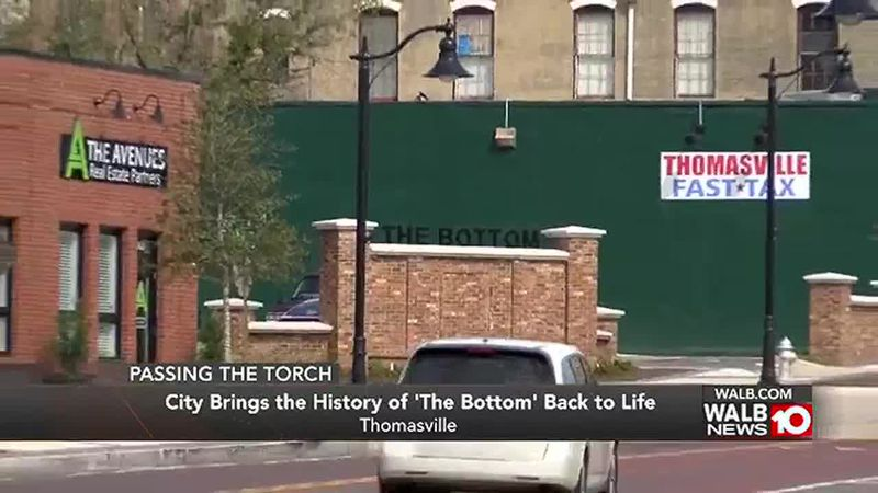 Thomasville bringing the history of 'The Bottom' back to life