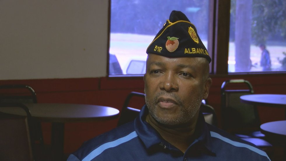 J.B. Frazier is the commander of the American Legion Post 512 in Albany. (Source: WALB)