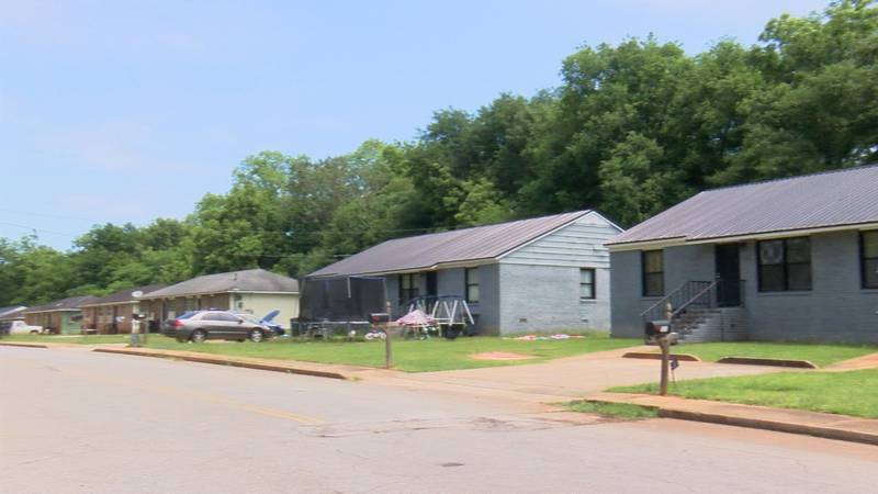 An anonymous man said his house is in the middle of a gang war on Bessie Mays Circle.