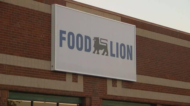 Food Lion sign
