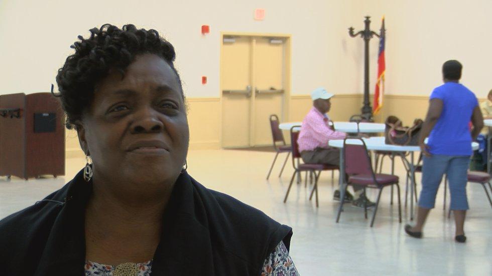 Rosa Myles; Turner County resident and Leroy Senior center resident