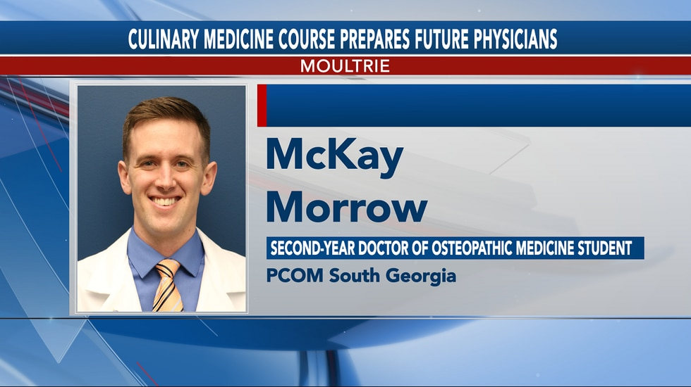 McKay Morrow, Second-year Doctor of Osteopathic Medicine Student