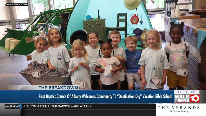 First Baptist Church of Albany Welcomes Community to 'Destination Dig' Vacation Bible School