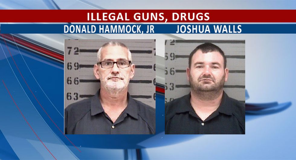 Walls, of Albany, brought in firearms from Florida, while Hammock, of Shellman, is a convicted...