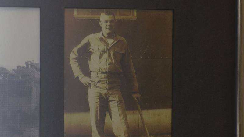 Jack Stone was drafted into the U.S. Army in 1950.