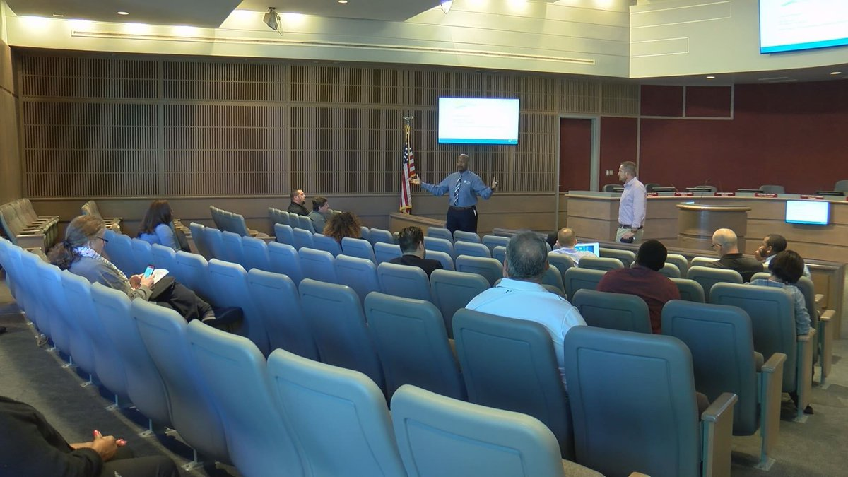 City leaders meet with Georgia Technical College representatives. (Source: WALB)