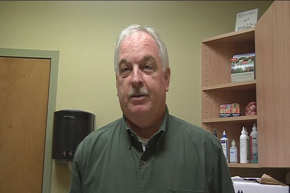 Georgia Wildlife Rescue Association Executive Director Chet Powell