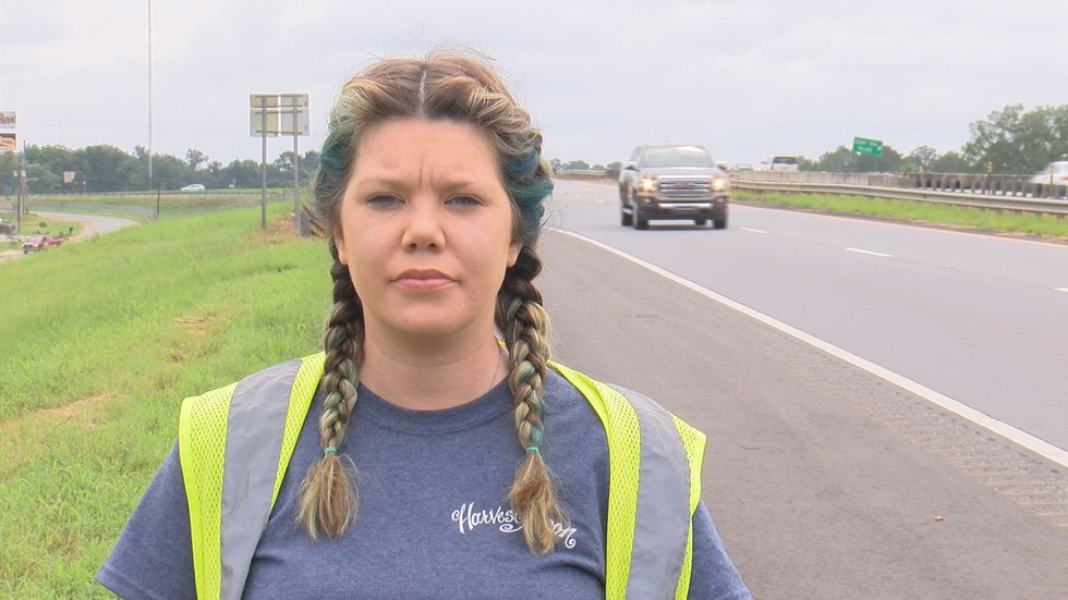 Julie Walsh and Albany Police said the driver has not been identified, nor found yet