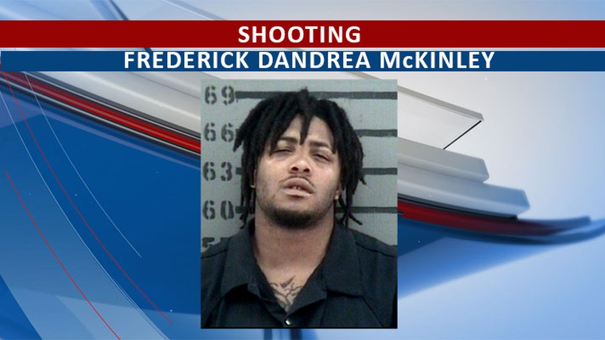 McKinley was taken into custody by APD