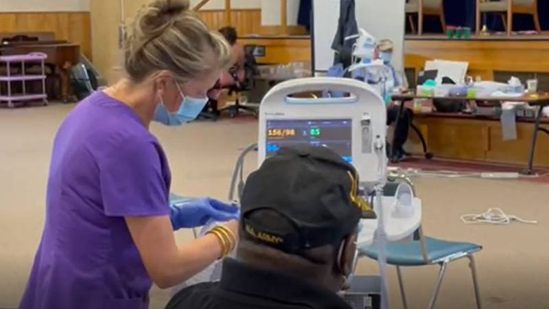 VA Clinic offers vaccinations to veterans and spouses