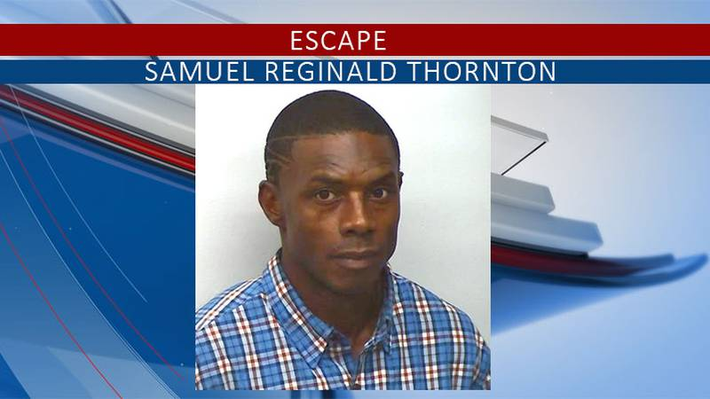 Police are on the lookout for Thornton