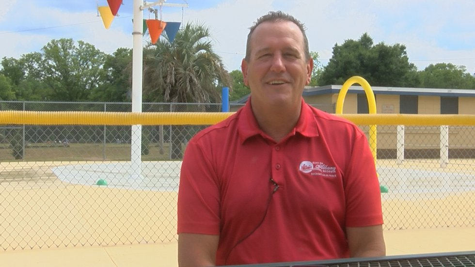 Interim Director for the City of Albany's Recreation & Parks Department, Craig Potter,