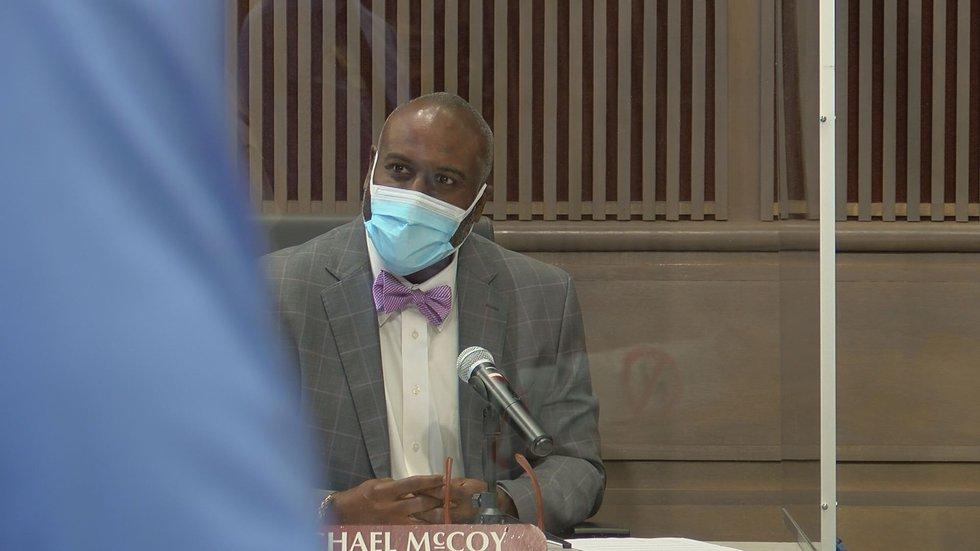 Dougherty County Administrator Michael McCoy