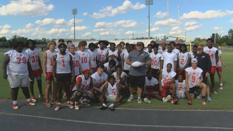 The Irwin County Indians earned the honor of being this week's Team of the Week