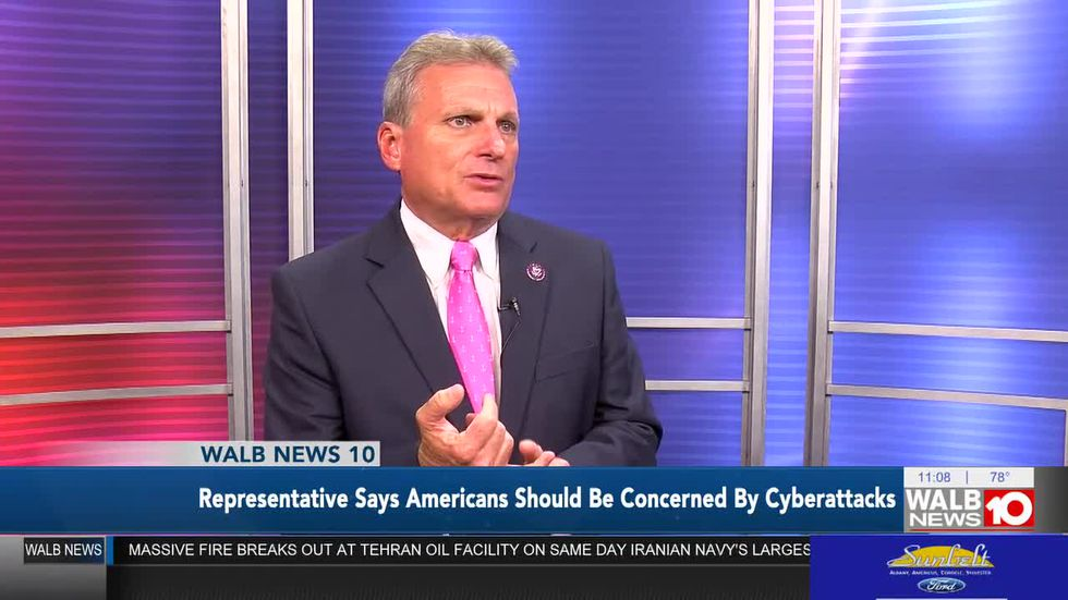 Rep. Buddy Carter on recent cyber attacks