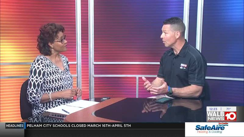 Friday - WALB's General Manager with timely topics
