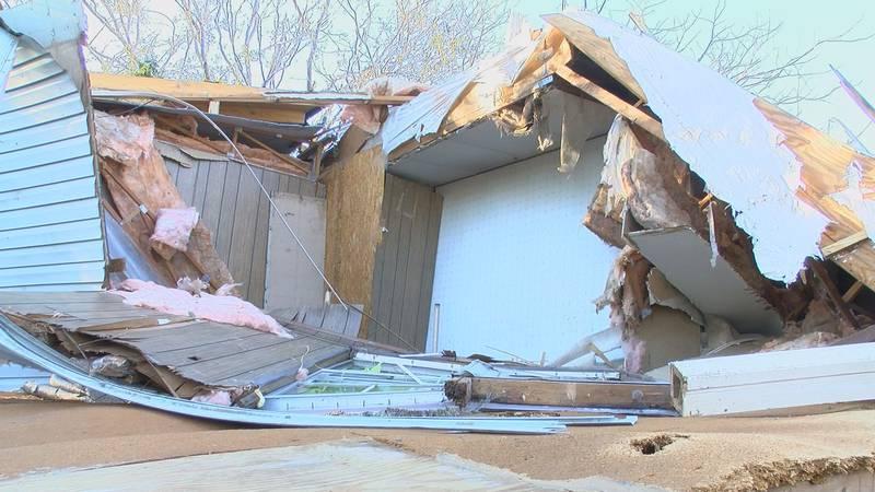 Miller County tornado damage