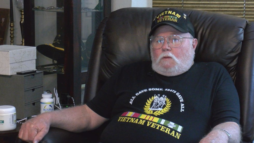 He went on to receive a Silver Star for his actions during the war.