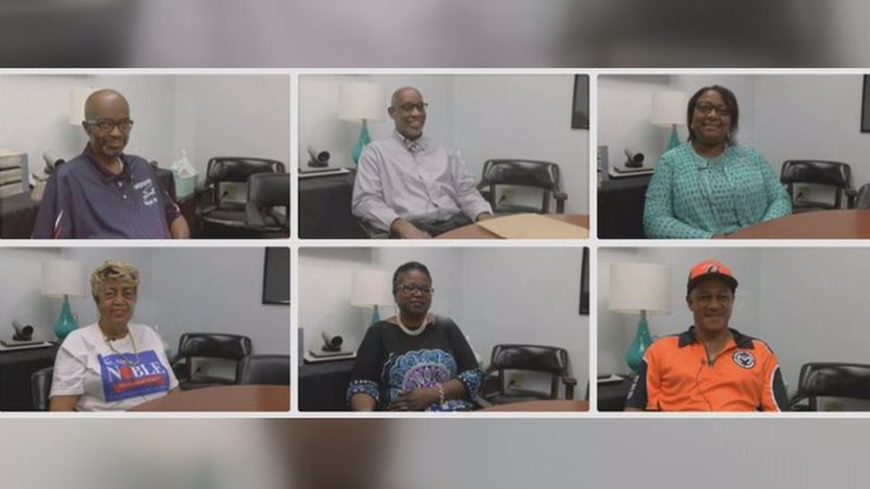 The six candidates for the Dougherty County BOE District 2 seat.