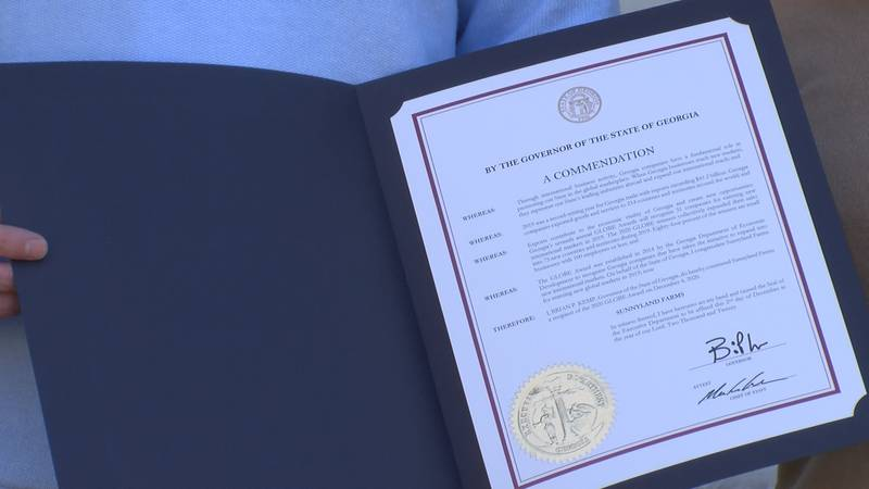 Sunnyland Farms Recognized by State For Entering New International Markets