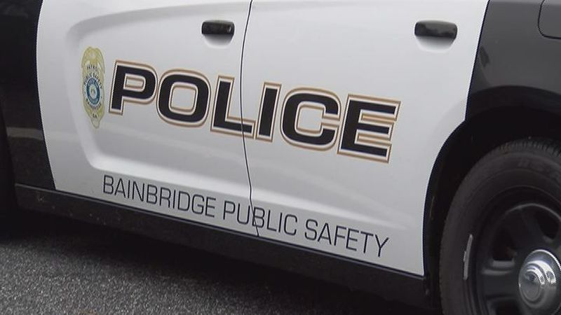 A deputy with Bainbridge Public Safety made a special surprise delivery Sunday afternoon to a...