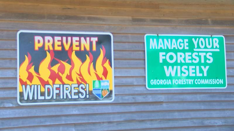 Georgia Forestry Commission encourages safe burning