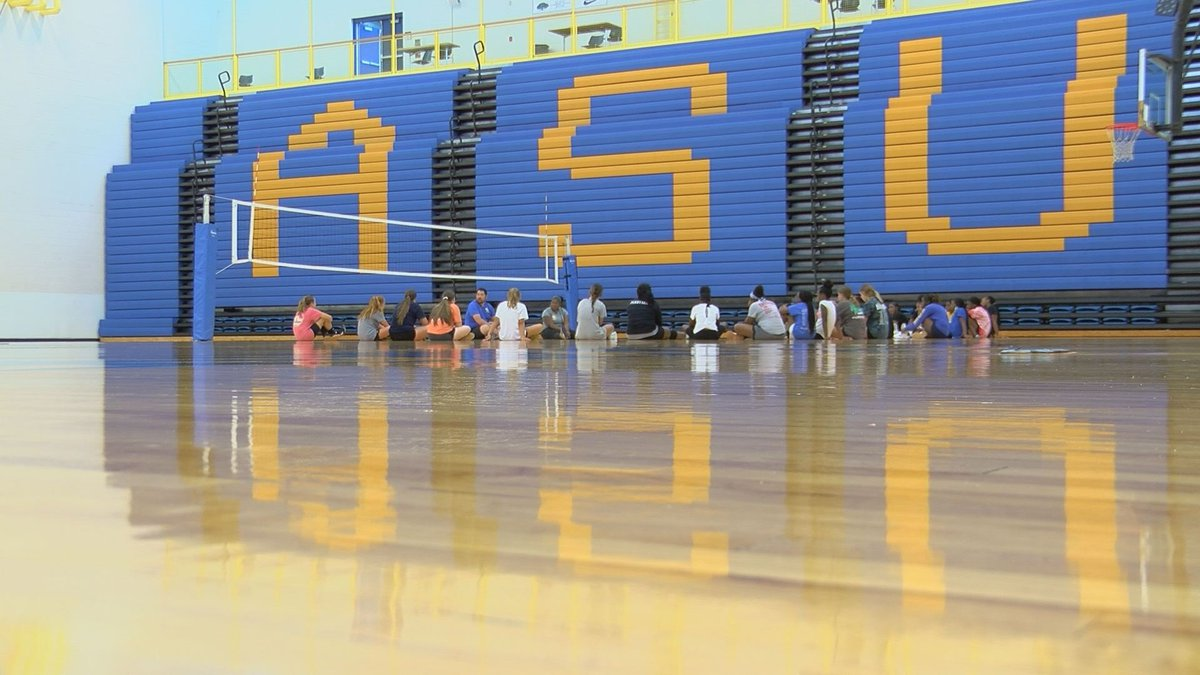 Albany State Volleyball Hosts Skills Camp